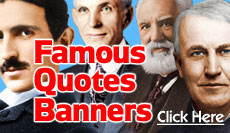 Famous Quotes Banners