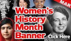Women's History Banner