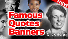 Famous Quotation Banners